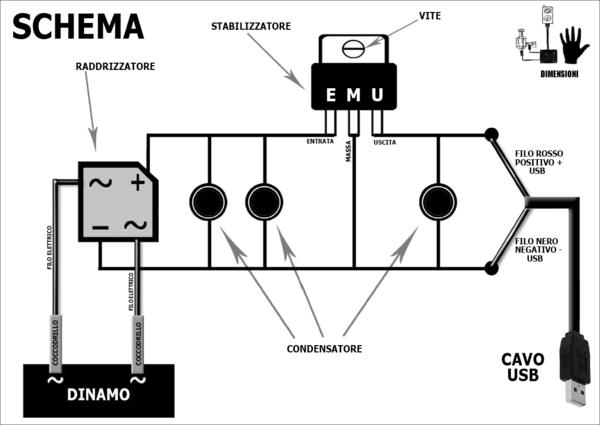 Schema Elettrico Dinamo E Regolatore : Forum indipendente biciclette elettriche pieghevoli e utility