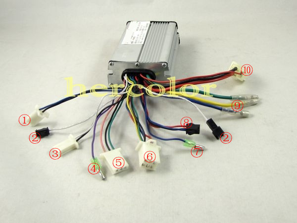 Yk85 Controller Wont Run: Electric Bike Controller 36v Wiring Diagram At Johnprice.co