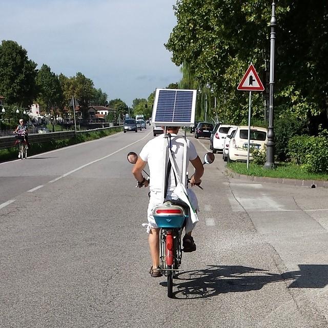 Pannello Solare Bici : Mira ve