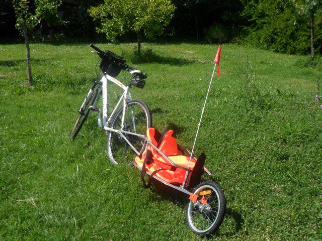 Carrello monoruota per bici – Pompa Depressione