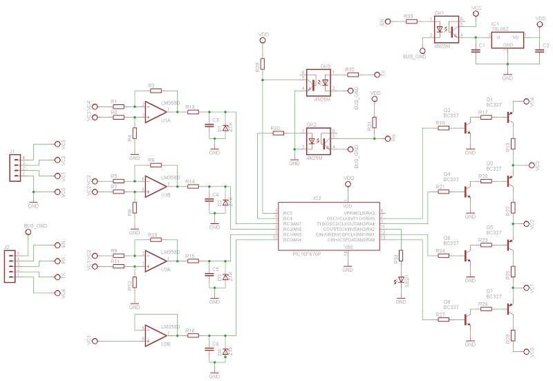 Schema elettrico bilancia elettronica