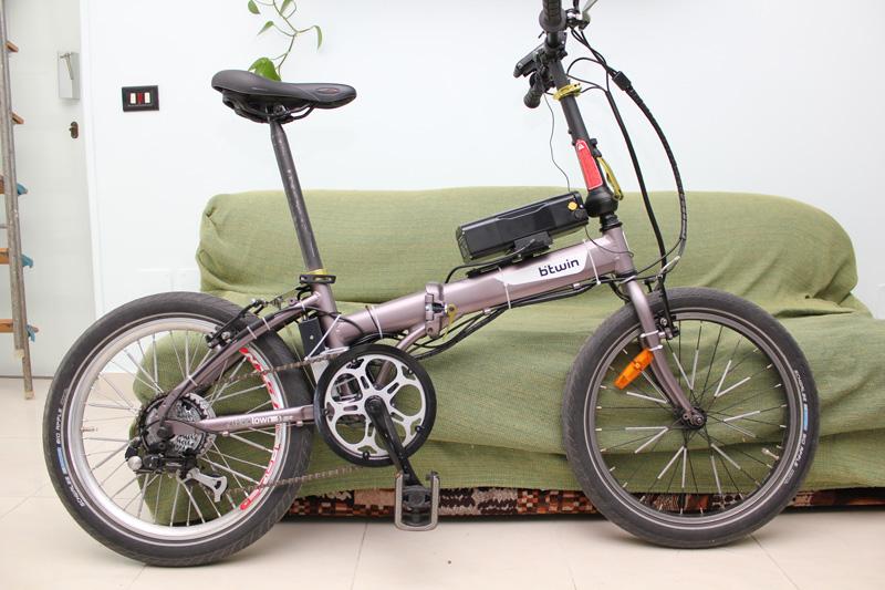 Bici Pieghevole Decathlon Hoptown.Hoptown 5 Pedelec