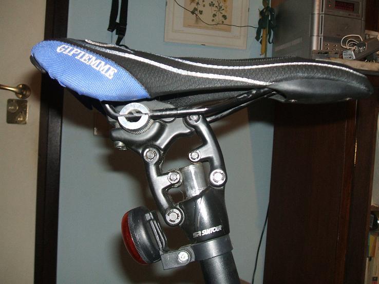 MI XIM regolabili Reggisella Bici Bicicletta contagocce l/'assorbimento degli urti smorzamento SEAT PM8F3
