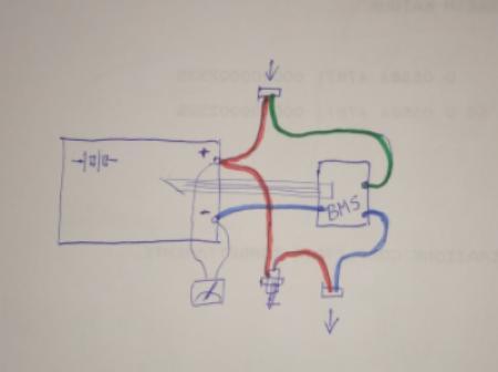 Schema Collegamento Bms : Bms circuito di protezione v a per max batterie agli i
