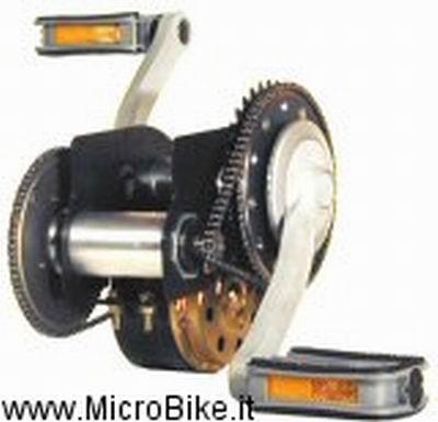 Motore elettrico con riduttore di giri